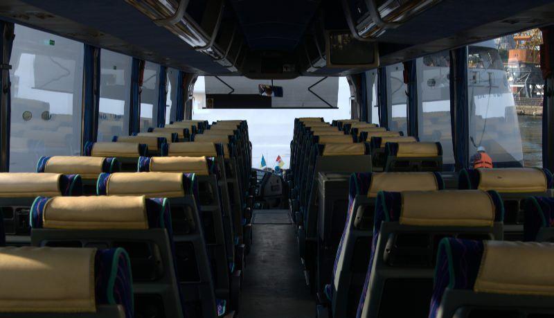 туристический автобус ман фото салона