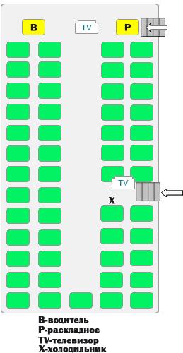 316 Transliner 50 мест