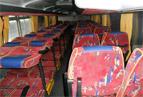 Заказ автобуса Одесса Setra - фото спальных мест