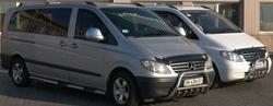 Заказ минивэна Mercedes VIANO-VIP - фото вид снаружи